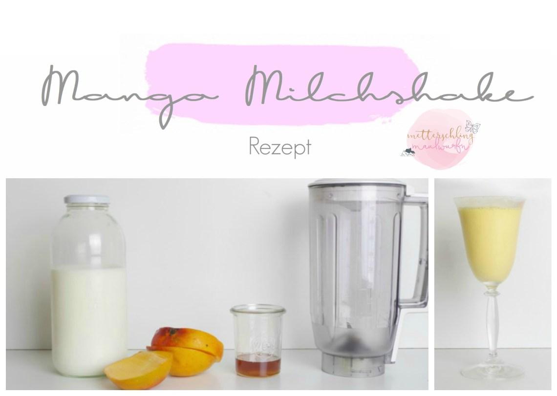 mango milchshake rezept sommer getränk