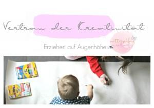 kreativität erziehen augenhöhe kinder malen lassen