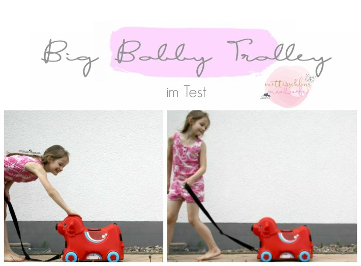 Big Bobby Trolley Kinderkoffer Koffer
