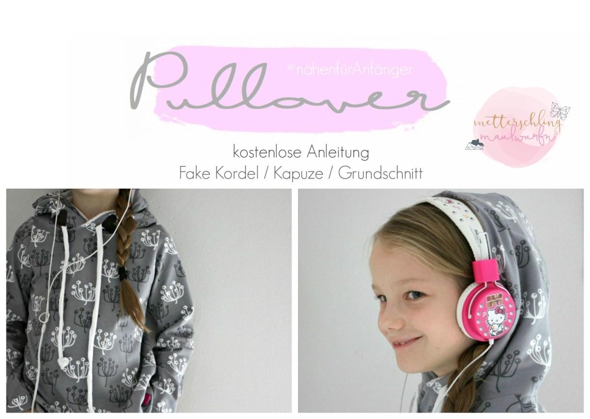 Pullover nähen lernen - eine super einfache Anfänger Anleitung
