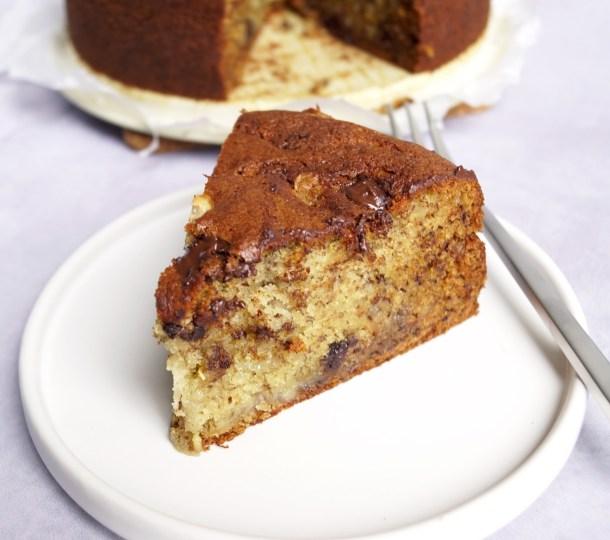 Trippel Chokolade Banankage Mette Skutter Cakes