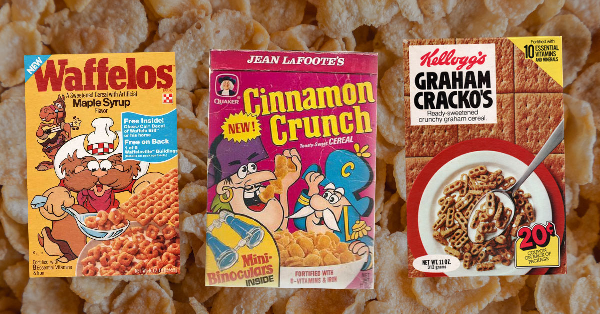 pick which cereals would