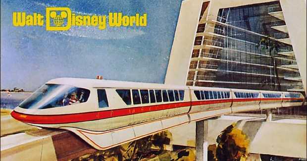 Image result for disney monorail walt disney world vintage