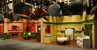 Sitcom Set Design - House Beautiful - House Beautiful