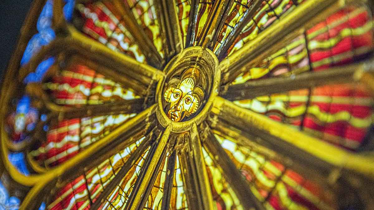 Expo 800 Ans Cathedrale Metz Porte Allemends