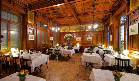 Saal vom Restaurant Schiff in Zug