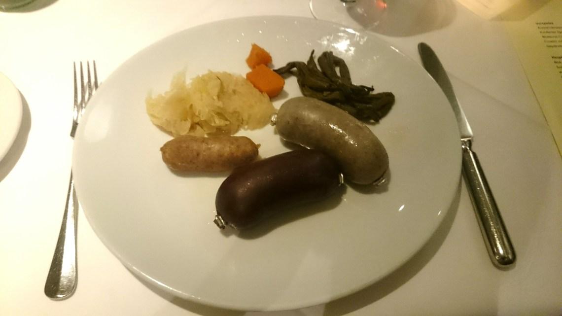 Reichhaltiges Metzgete-Buffet im Bloom, Winterthur