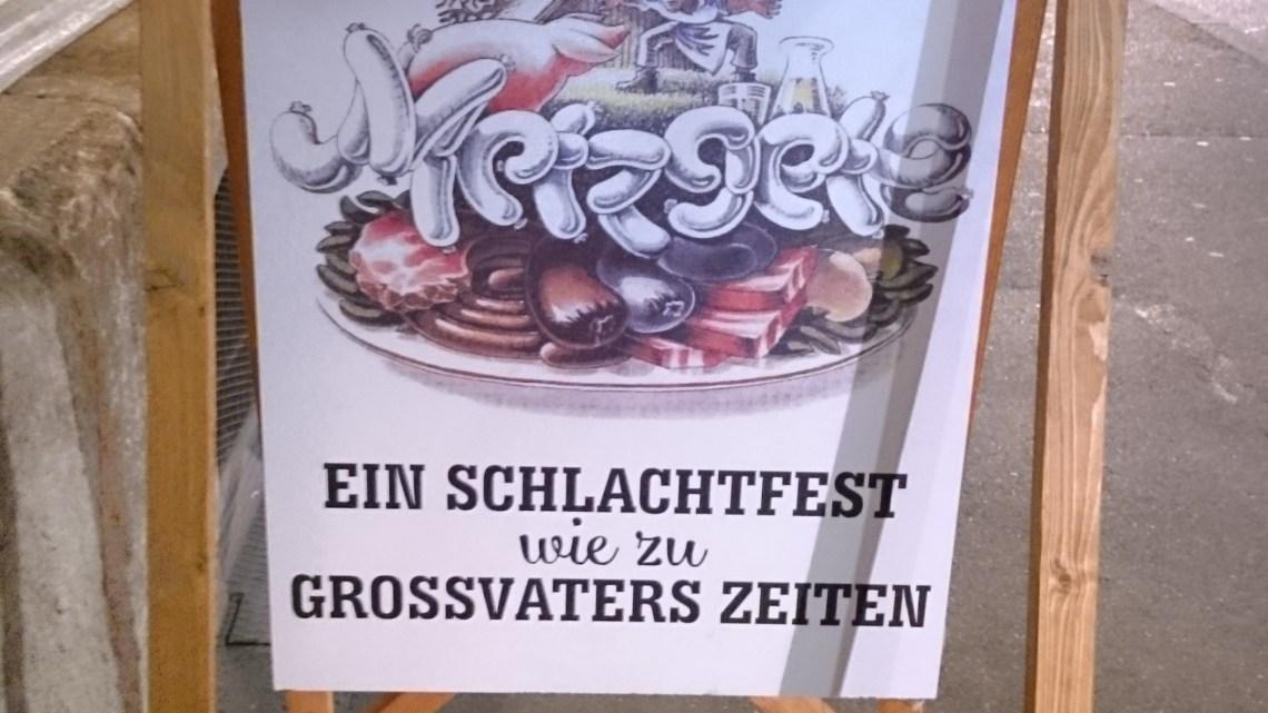 Meine Premiere in Winterthurs ältester Arbeiterkneipe