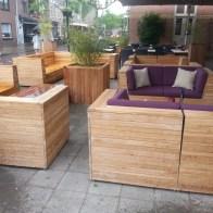 hardhouten loungebanken