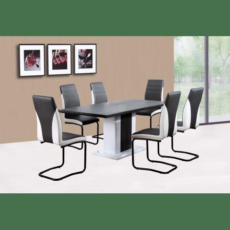 table salle a manger lot de 6 chaises