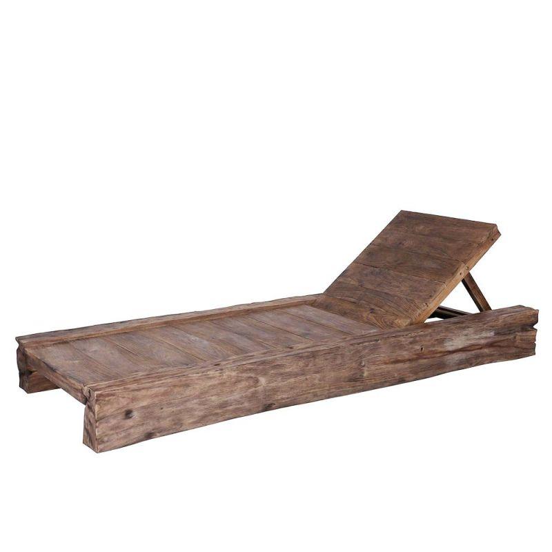 bain de soleil bois massif design 200cm kampung 7 positions