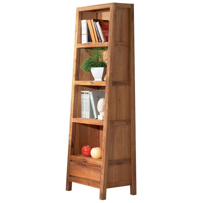 bibliotheque chene huile oakwood 56cm