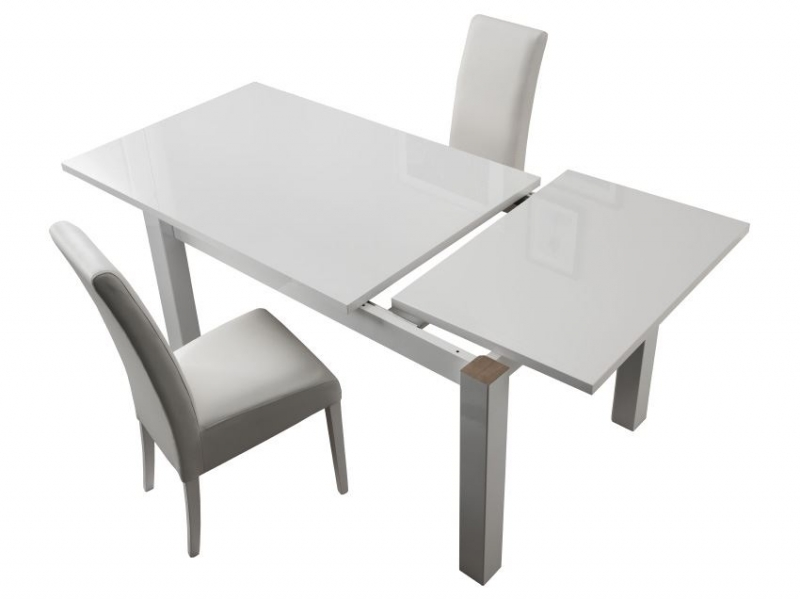 table a rallonge fly blanche