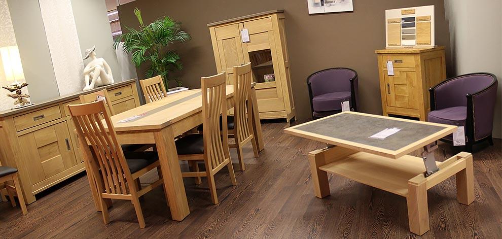 meuble bois pour salle a manger