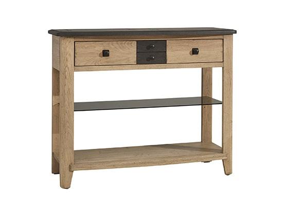 meuble console d entree en bois