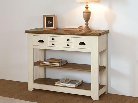 console meuble style campagne chic