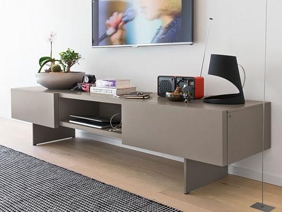 meuble tv design calligaris sipario