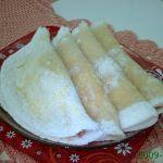 Tapioca com Manteiga Mussarela e Mortadela