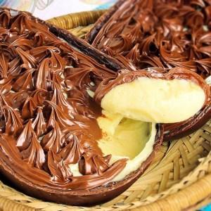 Ovo de Páscoa de Colher – Leite Ninho com Nutella