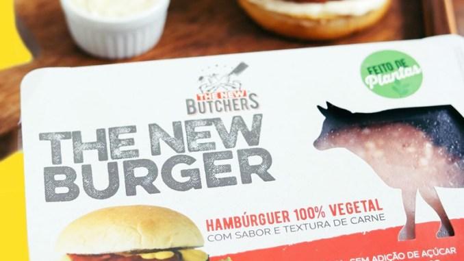 Foto de hamburger plant-based vendido no Pão de Açúcar