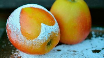 Açúcar de maçã chegando ao mercado