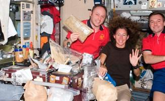 A ceia de Natal dos astronautas da ISS
