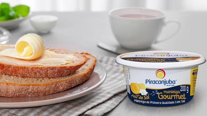 Piracanjuba lança manteiga com flor de sal