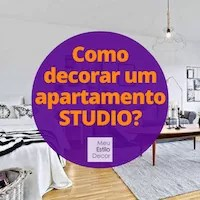 Como decorar um apartamento studio