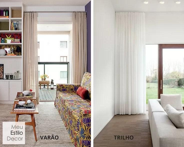Como pendurar cortinas como um designer de interiores - Formas de cortinas ...