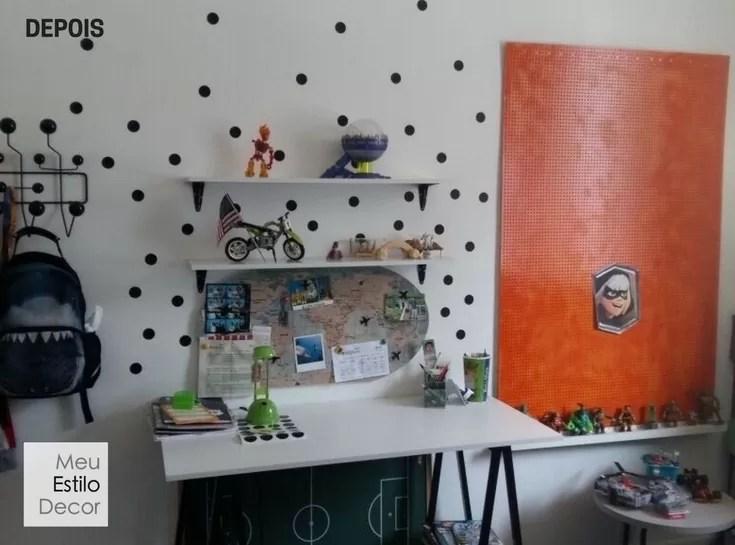 Decoração de quarto jovem barato Coaching MeuEstiloDecor