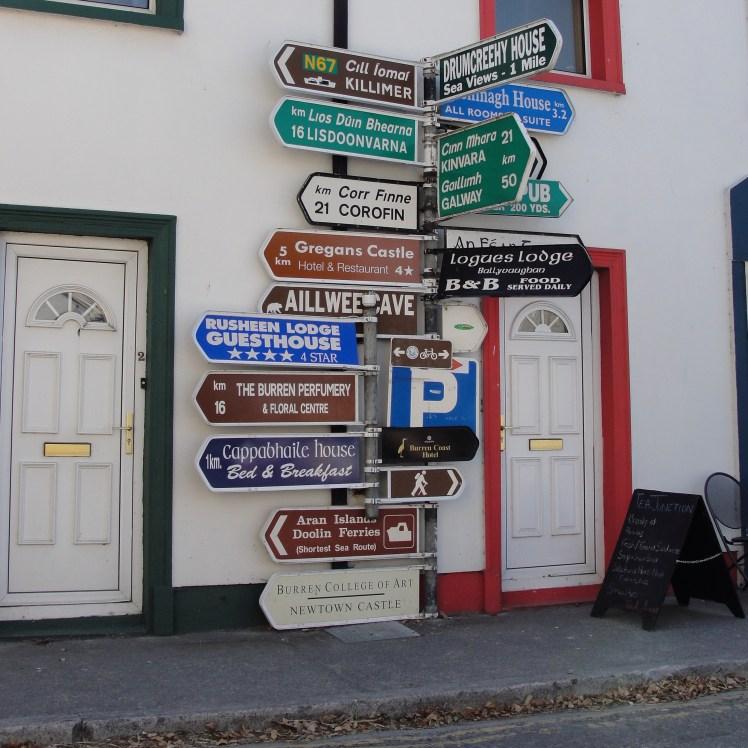 Placas estada Irlanda