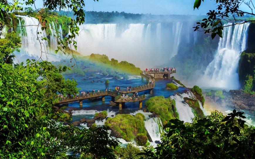 Resultado de imagen para Cataratas de Iguazú, Argentina y Brasil DICIEMBRE