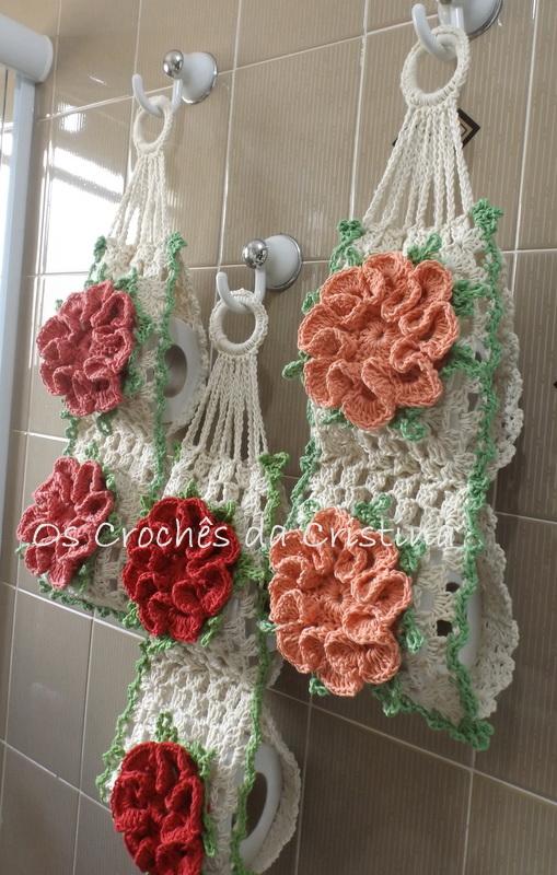 Porta Papel Higinico  Os Crochs da Cristina  Meus Trabalhos