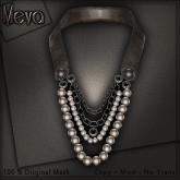 Meva Vintage necklace Brown Vendor