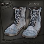 Meva Gluu Boots Blue Vendor