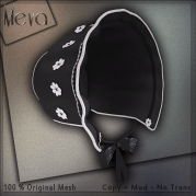 Meva Bonnet Black Vendor