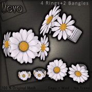 Meva Daisy Bangle + Rings Vendor