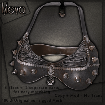 Meva Estelle Bra Black Vendor