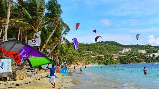kite-surf en Boracay