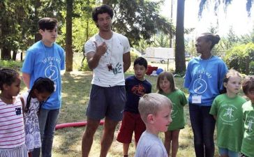 Trabajar en campamentos de verano en EEUU
