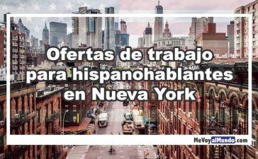 Ofertas de trabajo en Nueva York