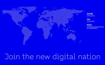 Ser residente digital en Estonia