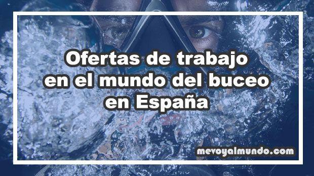 Ofertas de trabajo para buceadores en España