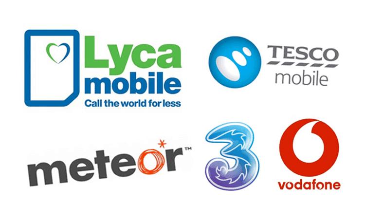 compañías de teléfono Irlanda