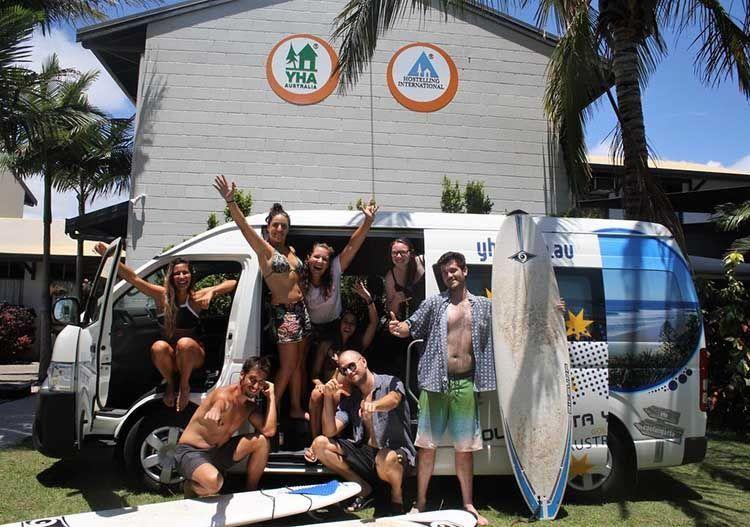 Trabajar como voluntario en un hostel en Australia