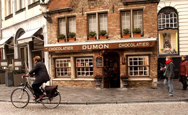 Trabajar en una chocolatería en Bélgica