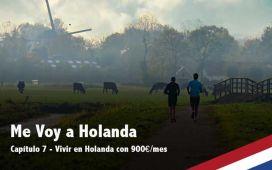 Vivir en Holanda con 900€ al mes