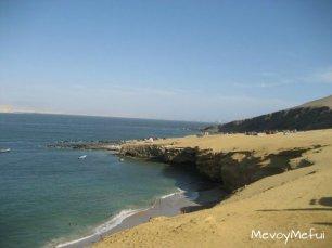 La Mina beach, paracas