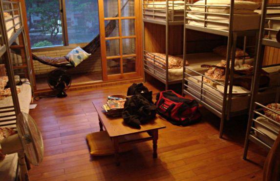 Uncomfortable Hostel Experience
