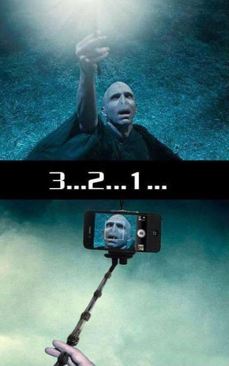 Voldemort being Voldemort